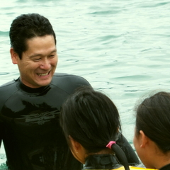 【夏P】「お父さん、海の中ってすごい!」忘れられない親子の思い出づくり☆ドキドキ体験ダイビングプラン
