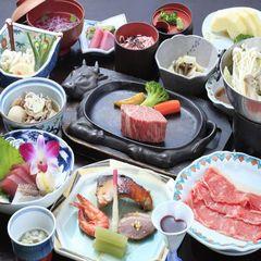 【4/29〜5/4限定◆GW充実】お料理グレードUP!選べる山形牛御膳&のんびり最大21時間滞在可!
