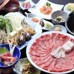 【スタンダード】特選牛すき焼き膳プラン【巡るたび、出会う旅。東北】