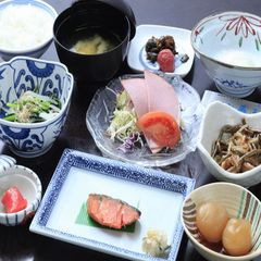 【朝食付プラン】観光にオススメ!山形名物・芋煮と玉こんにゃくでしっかり朝ごはん♪