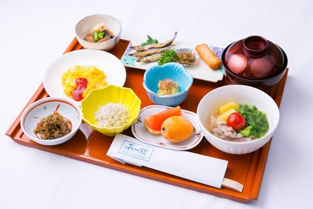 薩摩の歴史と文化を感じる旅を。南洲館 朝の名物『鹿児島ブランド黒豚朝しゃぶ付』【朝食付】