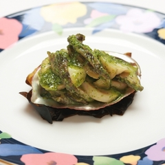 【#徳島あるでないで】量より質!!レストラン一番人気の鮑のブルギニオンバター
