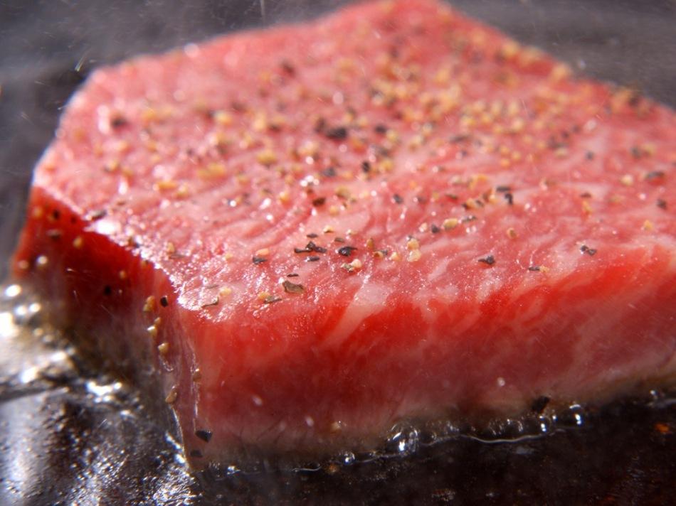 ≪MINAMIイチオシ≫島根和牛しっかり130gと季節の会席を食す