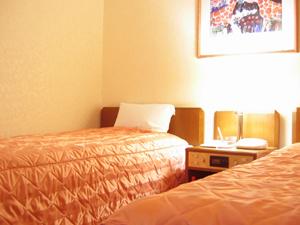 【禁煙】ツインルーム◆ベッド2つのお部屋