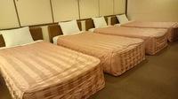 【禁煙】フォースルーム☆ベッド4台のお部屋