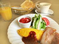 【ふわふわオムレツ朝食付】朝から元気に京都旅行♪
