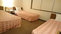 【禁煙】トリプルルーム◆ベッド3つのお部屋