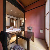 ●和洋モダン離れ●専用露天風呂・内湯付き たたみ3畳和洋室