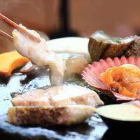 ☆対馬伝統漁師料理「石焼き」を豪快に!【1泊2食付】