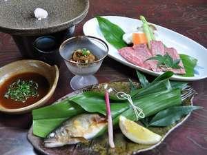 佐賀県産和牛の陶板焼付き☆プラン●夕部屋食●