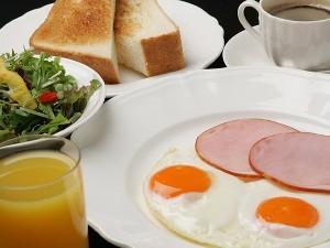 ホテルモンテローザ一押しの朝食セットプラン! 新メニュー追加で5種類から選べる