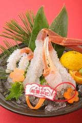【本物の贅沢】特選鳥取県産・赤タグ付き使用 活け松葉蟹づくし