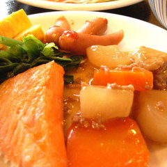 【2食付】おまかせ夕食/バイキング朝食◎しっかり2食付プラン
