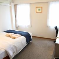 【喫煙】ダブル(ベッド幅140cm)天然温泉付ホテル