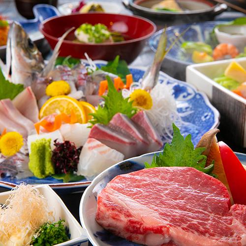 【大分APより約1時間/福岡APより約2時間】豊後牛ヒレ肉を岩塩プレートで楽しむステーキプラン