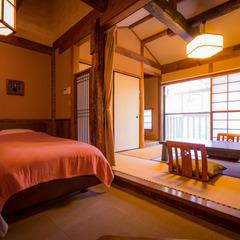 和室6畳+板の間6畳(ツインベッド付)