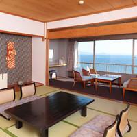 オーシャンビュー和室12.5畳+広縁+踏込【会場食】