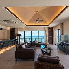 ホテル棟 最上階  カフースイート(2-4名様) 120平米