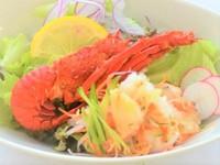 【三重県民限定!】お得な特典付き!【お得に贅沢しよう】伊勢海老サラダ&鯛の舟盛り♪