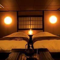 ◆湖側囲炉裏部屋(ツインベッド+囲炉裏)