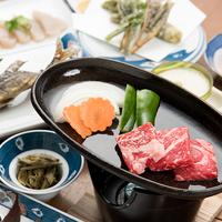 【熊野牛付き】熊野牛の鉄板焼きプラン!甘みのブランド牛に舌鼓(14品)