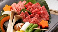 【春夏旅セール】【しまね和牛3種食べ比べ120g】「炭火焼」で贅沢食べ比べ会席プラン