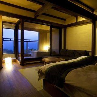 露天風呂付和室2ベッド(10畳)