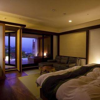 露天風呂付和室2ベッド(10畳) +テラス