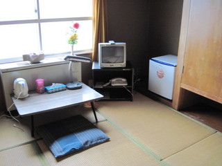 現金決済特典 和室【6畳】アウトバス 冷蔵庫有