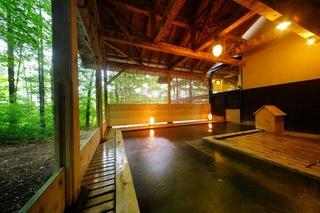さんさ踊り期間限定【一泊朝食付】ゆこたんの森で過ごす温泉満喫♪プラン