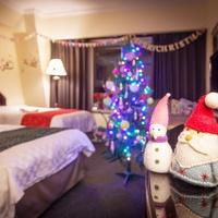 ★オーシャンビューのクリスマスルームSTAY★パティシエ特製スイーツ付♪ゆったり12時チェックアウト