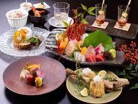 【味覚三昧会席】【まるごとおもてなし】美食・牛ステーキ・熊野の鮮魚!基本/美食オールインクルーシブ