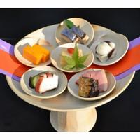 古代天平料理「万葉会席」〜天平の宴を基本とした宮廷会席料理を夕食で味わう〜2食付
