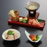 【三大肉会席】 夕食は大和三大ブランド〜大和牛・大和肉鶏・大和ポーク付き会席(2食付)