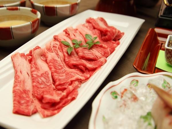 *富山で休もう。*【富山県産牛しゃぶしゃぶコースプランA 18:30スタート】 1泊2食付♪