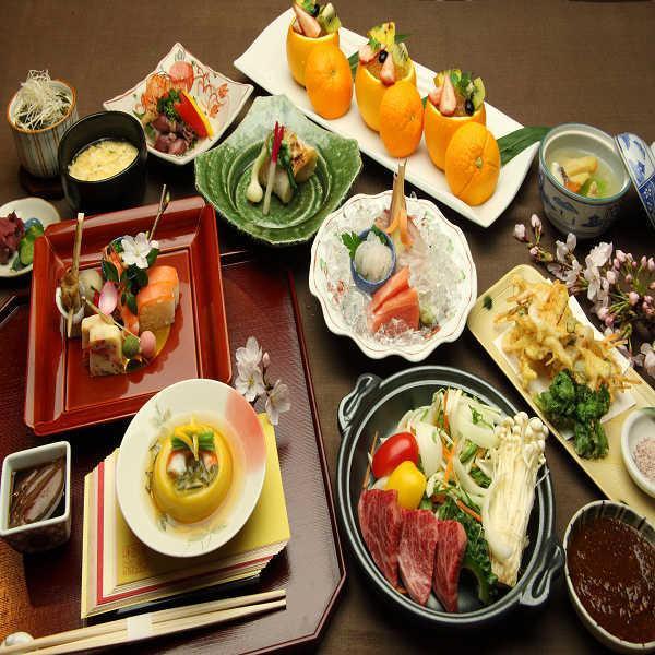 【立山会席コースプラン 19:30スタート】 ホテルおすすめ♪1泊2食付