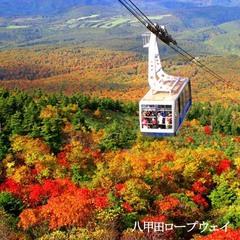 【紅葉】八甲田・秋の錦をロープウェイで空中散歩!ロープウェイ往復券付!