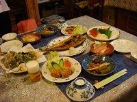 自家野菜や道産食材を使った家庭料理でおもてなし【1泊2食付きステイ】
