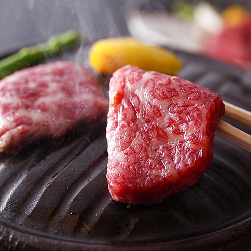 霜降り淡路牛の石焼ステーキ&牛しゃぶ鍋と島の海の幸