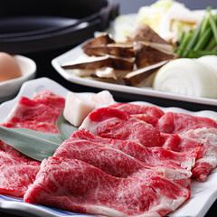【早得21】淡路牛と松茸のすき焼と紅葉鯛・伊勢海老の姿造りプラン