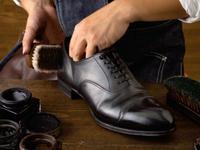 職人磨きで靴が甦る!【シューシャインサービス】付プラン
