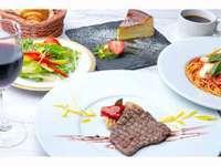 青葉台食堂george 朝食+コースディナー2食付きプラン