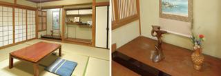和室6〜16畳(本館又は別館トイレ付・2食付) ※現金特価