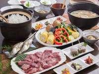 【女性に人気】「私はあっさりした焼肉が好き!」自家製タレも好評☆赤身中心但馬牛&高原野菜の炭火焼肉
