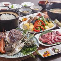 【3世代向け】「お爺ちゃんは海鮮、僕はお肉!」特注鉄板&炭火で野菜もとろける♪孫の笑顔が嬉しい