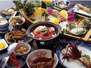【伊勢志摩サミット記念】「祝い魚プラン」鯛・伊勢海老・鮑の舟盛付(参宮記念木札プレゼント)