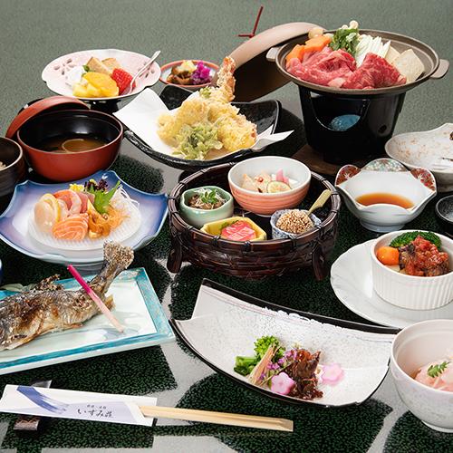 【定番】季節の旬を食す★料理旅館ならではの創作会席を堪能!