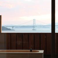鳴門海峡を見ながら、露天風呂付き和洋室(本館:阿那賀)