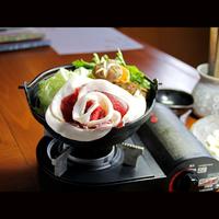 【冬の篠山はコレで決まり!】丹波篠山天然猪肉★ぼたん鍋会席コース★