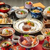 【名月会席】贅沢に秋日和・秋の旬を食べつくそう〜山陰の名湯と旬を味わい尽くす〜2食付<部屋食>